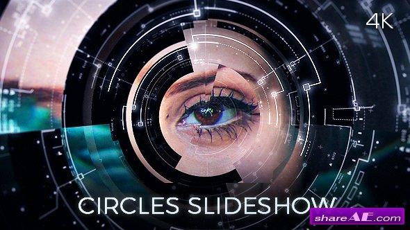Videohive Circles Slideshow