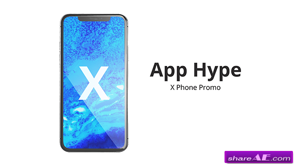 Videohive Phone X App Hype