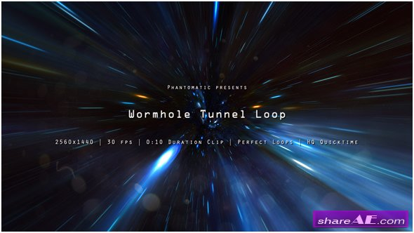 Videohive Wormhole Space 3 - Motion Graphic