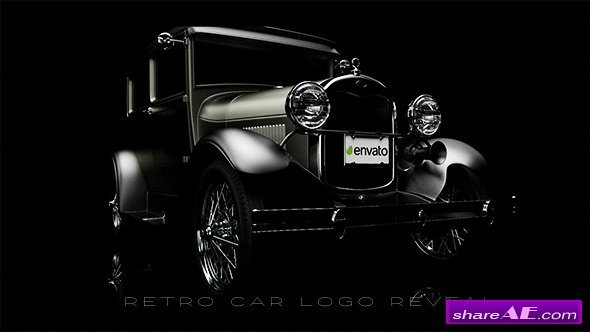 Videohive Retro Car Logo Reveal