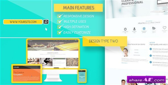 Videohive Website Presentation Pack 8935398