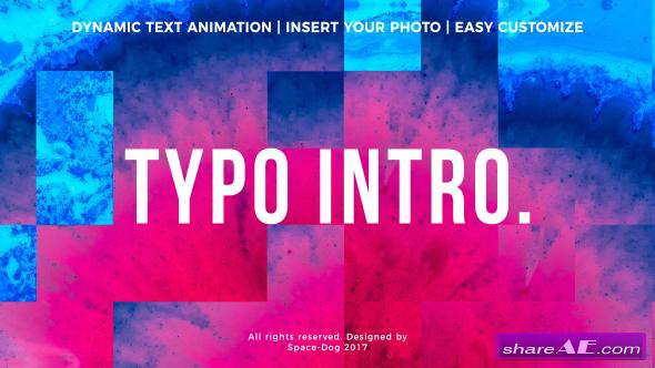 Videohive Typo Intro