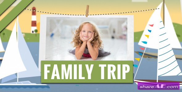 Videohive Family Trip