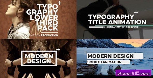 Videohive Typography 20762765