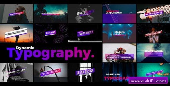 Videohive Typography 21310826