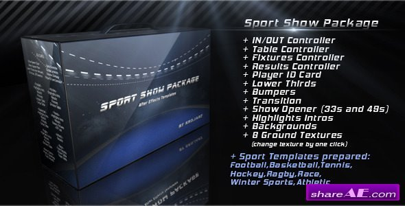 Videohive Sport Show Package