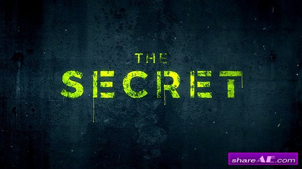 Videohive The Secret | Logo Reveal