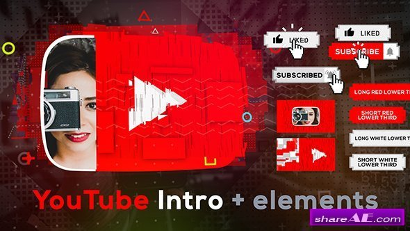 Videohive Stomp YouTube Intro