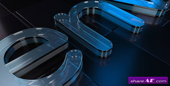 Videohive Cool Glass Logo