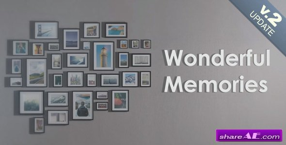 Videohive Wonderful Memories