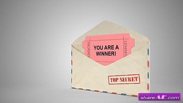 Videohive Opening Envelope Concept - Motion Graphics