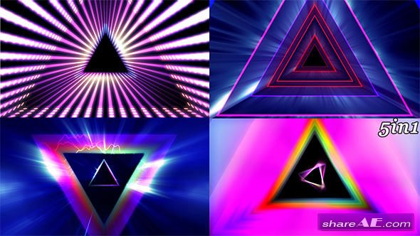 Videohive Prism Rays - Motion Graphics