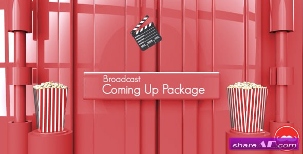 Videohive Broadcast Coming Up Next Package