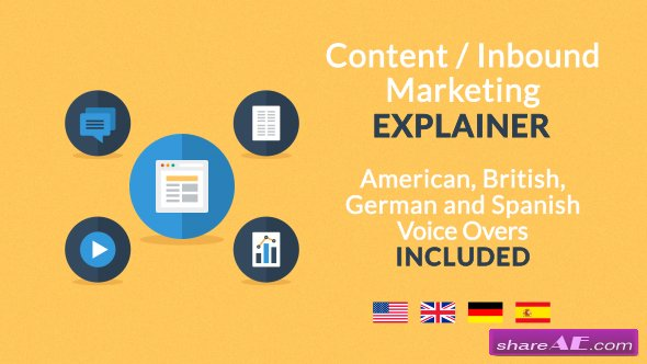 Videohive Content / Inbound Marketing Explainer