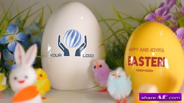 Videohive Easter Greetings - Digital Signage