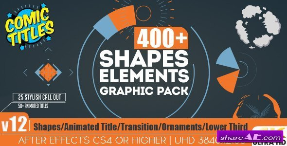 Videohive Shapes & Elements Graphic Pack