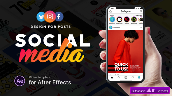 Videohive Social Media - Design for Posts