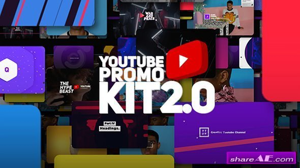 Videohive Youtube Promo Kit 2.0