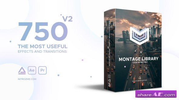 Videohive Montage Library - Most Useful Effects