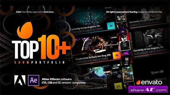 Videohive Top +10 Opener