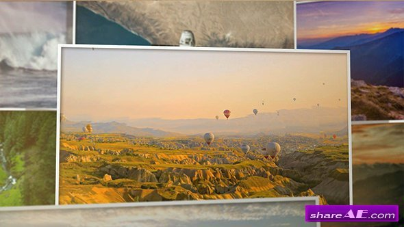 Videohive Inside Parallax Photos - 3D Slideshow
