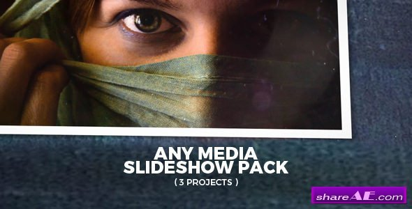 Videohive Any Media Slideshow Pack