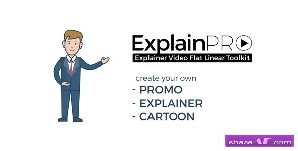 Videohive ExplainPRO. Explainer Video Flat Linear Toolkit