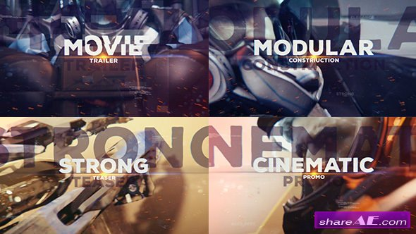 Videohive Epic Glitch Trailer