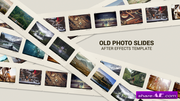 Videohive Old Photo Slides