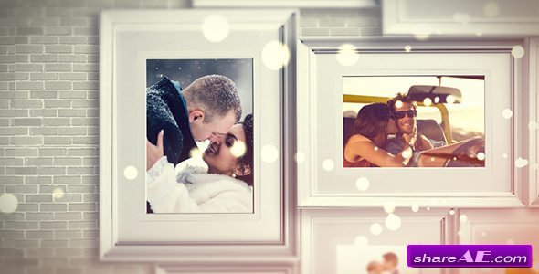 Videohive Wall Memories