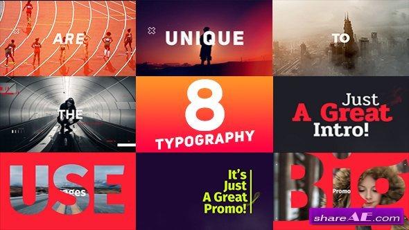 Videohive Typography Promo v7
