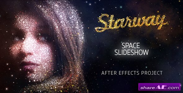Videohive StarWay Space Slideshow