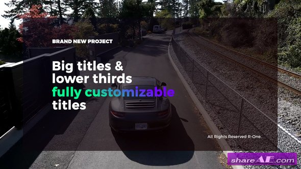 Videohive Big Titles & Lower Thirds