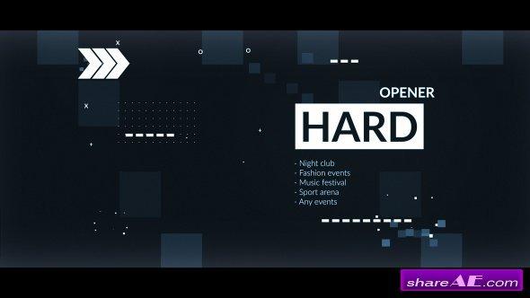 Videohive Hard Opener