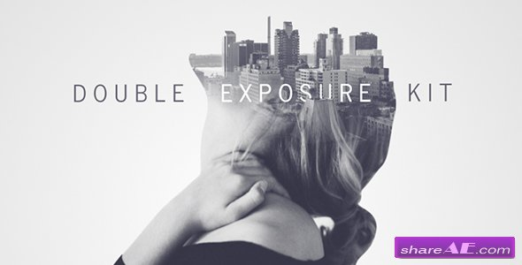 Videohive Double Exposure Kit v3 - After Effects Templates