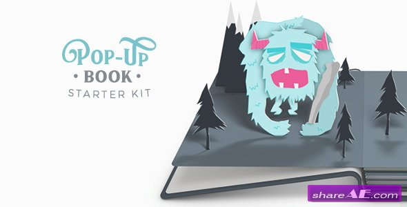Pop-Up Book Starter Kit v3.2 - After Effects Project (Videohive)