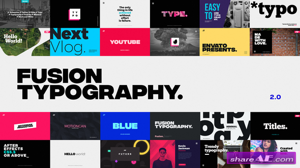 Videohive Animated Typography