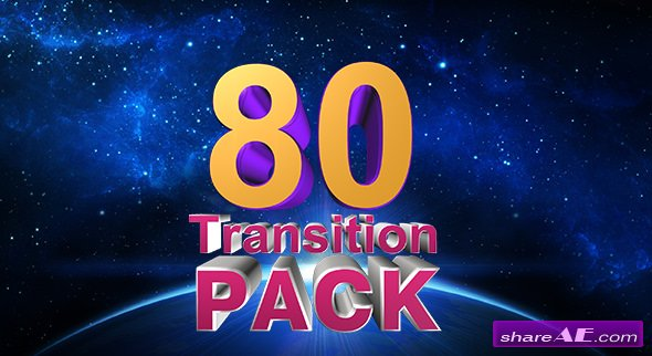 Videohive Transition Pack - Motion Graphics