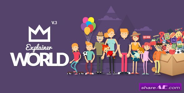 Videohive Explainer World Video Toolkit Library v3