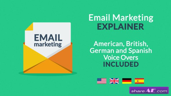 Videohive Email Marketing Explainer