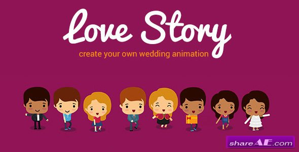 Videohive Love Story V1