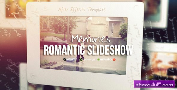 Videohive Memories - Romantic Slideshow