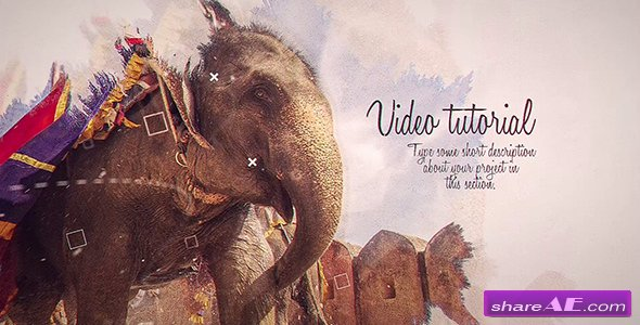 Videohive Ink Slideshow 21035402