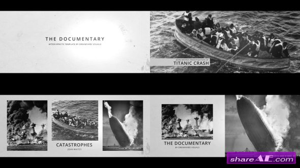 Videohive The History in Photos