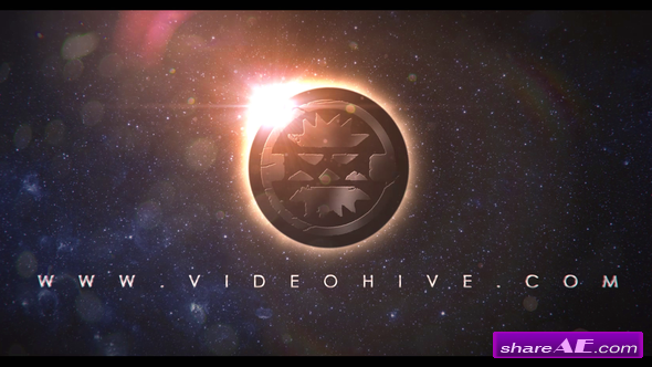 Videohive Earth Space Eclipse Logo