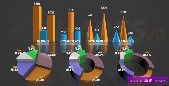 Videohive 3D Charts v.2