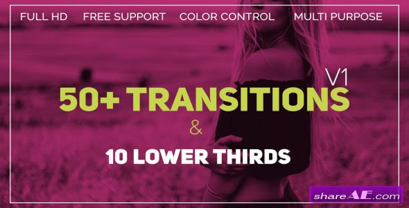 Videohive Transitions 21450502