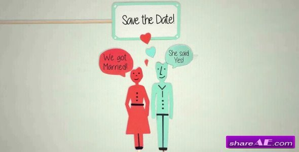 Videohive Save the Date