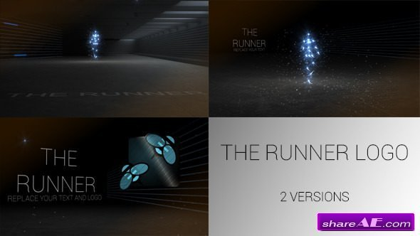 Videohive The Runner Logo