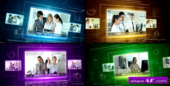 Videohive Hi-Tech Corporate Slideshow